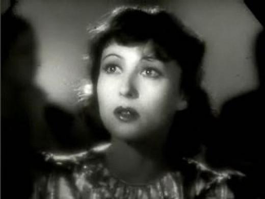 The beautiful Luise Rainer