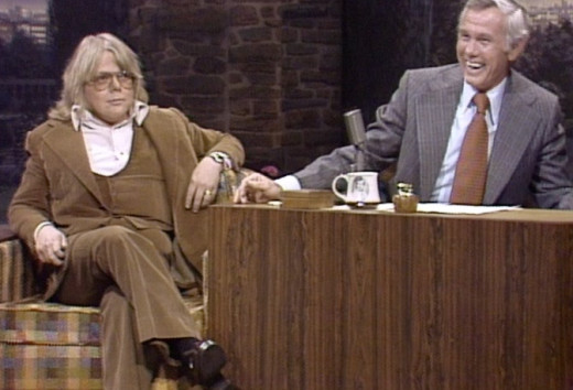 Paul Williams appeared on The Tonight Show fifty times.