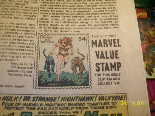 This is the picture of a Hulk 181 with the Marvel Value Stamp.