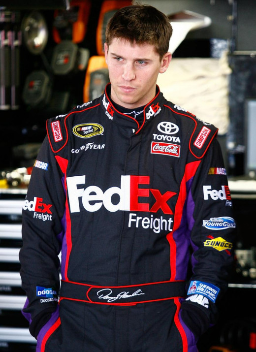 $25,000 is a lot of money- even for Denny Hamlin. Especially when he's right.