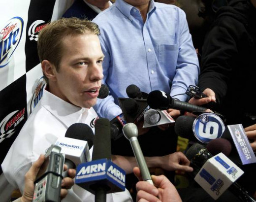 "Defending series champion Brad Keselowski was recently called to the NASCAR hauler to ""discuss"" his opinions as well"