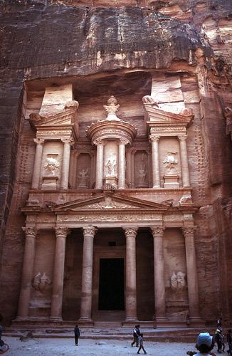 Treasury of ancient Petra