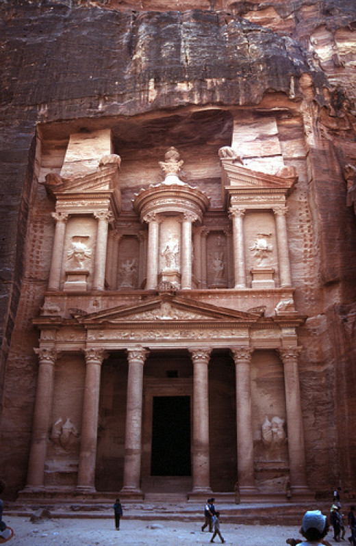 Treasury of ancient Petra