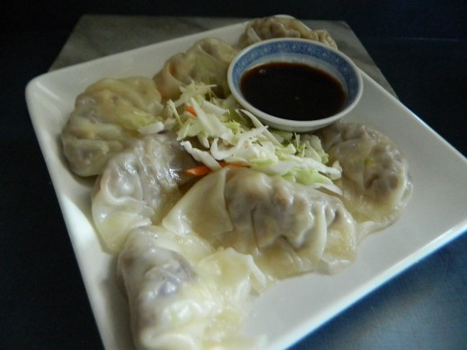Tender steamed gyoza are amazing...be sure to make many of them.