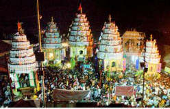 Hindu festival Kalpathy Ratholsavam in Palakkad, Kerala