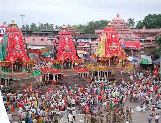Puri Jagannath ratha yatra: