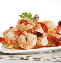 Marinated Prawns for Lunch, Dinner or a Snack