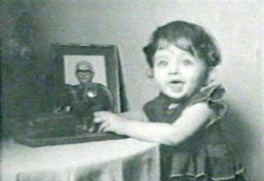 Aishwarya Rai Bachchan as a Kid