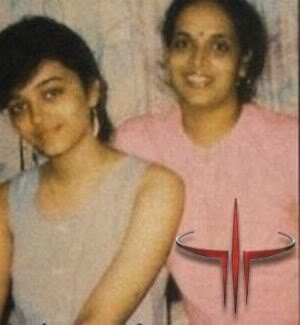 Aishwarya Rai Bachchan with her Mom