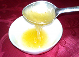 Honey hair tonic