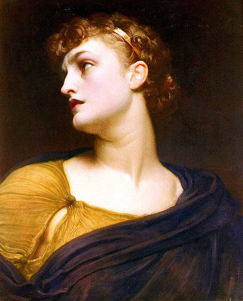 'Antigone' by Frederick Leighton (1830-1896).