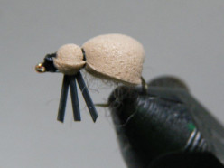 Fly Tying Mo's Foam Beetle