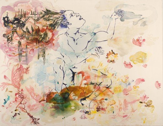 Lowell Boyers Art can have a modest but powerful affect. Like tectonic plates slowly shift the ground we walk on, continued exposure and interaction with the arts, when they're good, can move and change our perceptual space. The painting becomes a mi