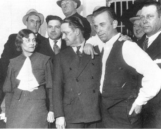 Dillinger(right), Holley(left), and Estill(center)
