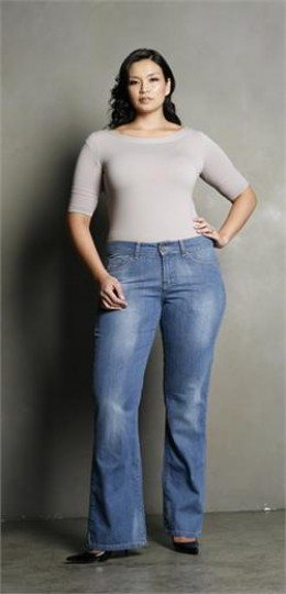 Premium Plus Size Women Jeans