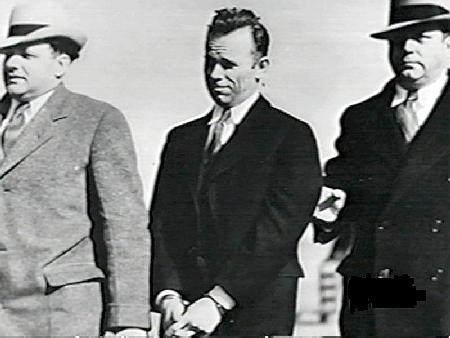 Dillinger at Airport
