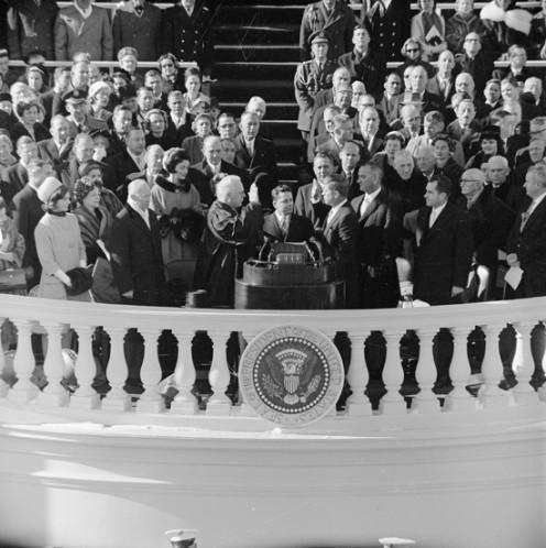 JFK Inauguration, 1961.