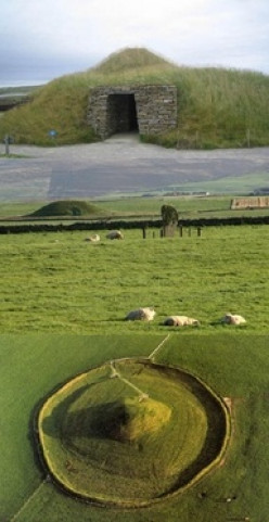 Archeological Sites of Orkney Scotland- Maeshowe