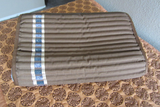 Amethyst biomat pillow