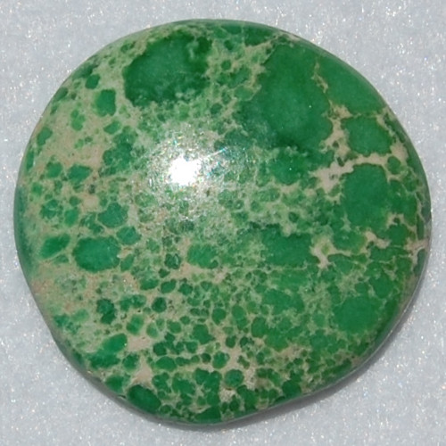 Large freeform cabochon made of Variscite from Lucin Utah