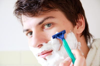 substituting regular shaving cream is easy with other cosmetics or oils.