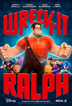WRECK-IT RALPH, Top Gun, and Despicable Me: 3D Releases-Reviews