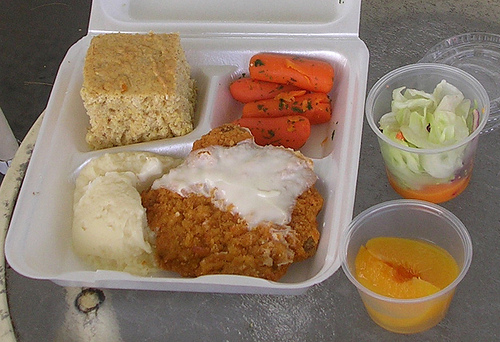 Home delivered meals can be provided in most areas.