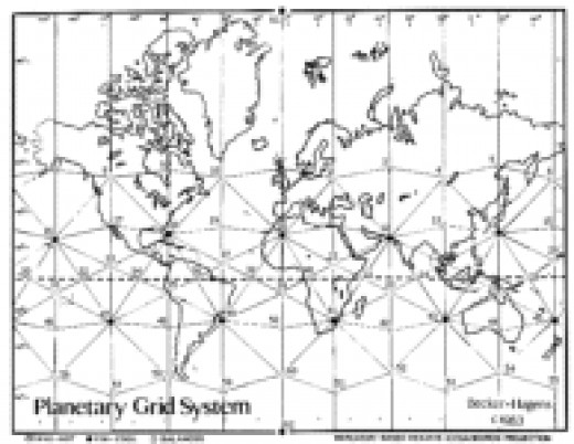 Russian Scientists' Mapped Grid of the Earth