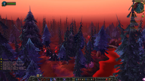 World Of Warcraft - Cataclysm @ 1920x1080p Ultra Settings with Gigabyte GTX 650 with 40- 60 FPS