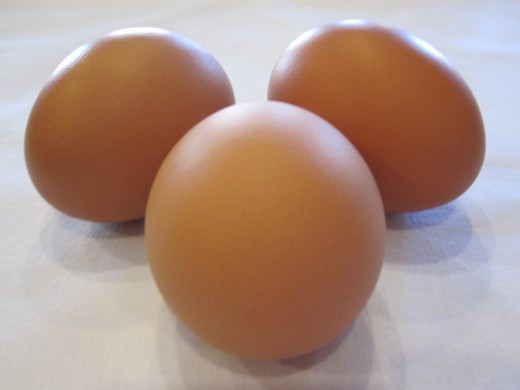Eggs contain high quality protein