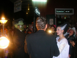 This Halloween wedding took place in New Orleans and featured costumes from spooky television shows.