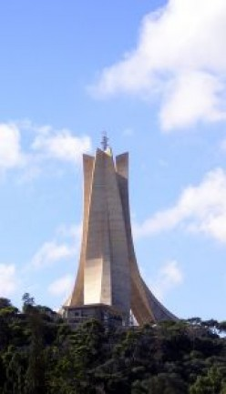 The Makam Echahid - for freedom fighters in Algiers, Algeria.