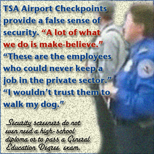 Former Newark Airport TSA screener says the job does little to keep fliers safe