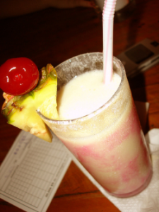 Fruity sweet virgin Colada