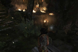 Tomb Raider escape and meet up with Roth higher up the mountain