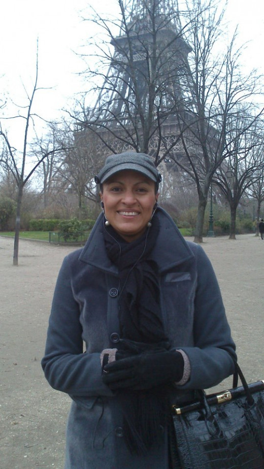 A woman on her own in beautiful Paris