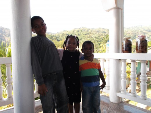 "Timothy, Grace and Joshua ""my great cousins"""