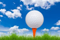 Enormous golfing ball ,courtesy of Freedigitalphotos.net: tungphoto