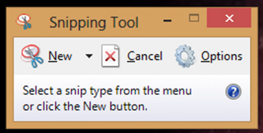Screenshot of Snipping Tool