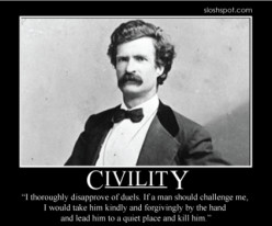 Is civility dead?