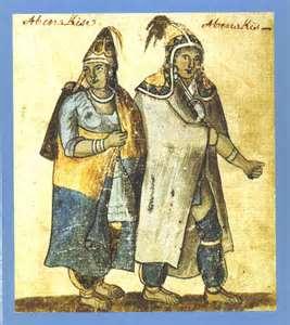 Abenaki Tribe circa 1752