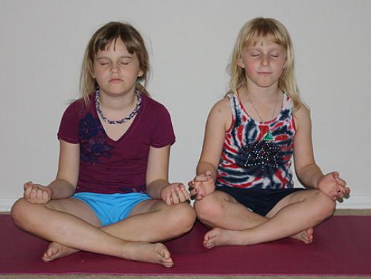 Meditating