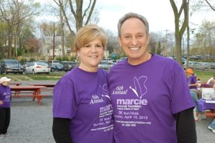 My amazing Uncle Paulie and Aunt Nancy at the 6th annual Marcie Mazzola Foundation 5k.