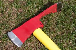 Head of Pulaski tool.