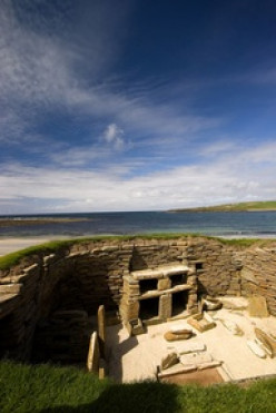 Archeological Sites of Orkney Scotland -Skara Brae