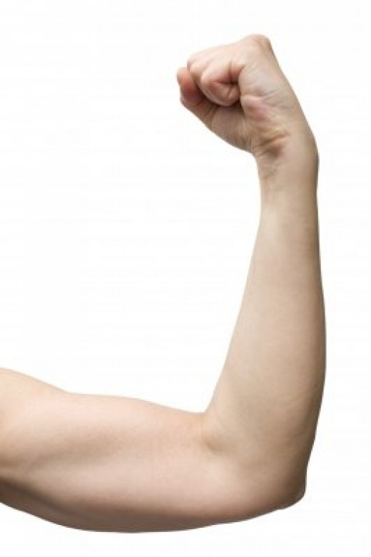Never say anything that pokes fun at your guy's muscles. Men are pretty sensitive in this area.