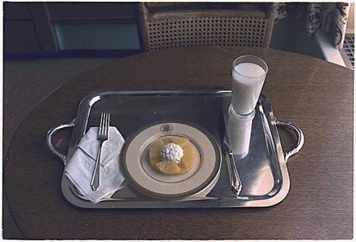 Nixon's Last White House Meal