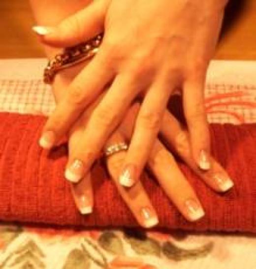 Real Vs. Fake Nails