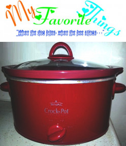 My Favorite Things [1]: Rival Crock-Pot