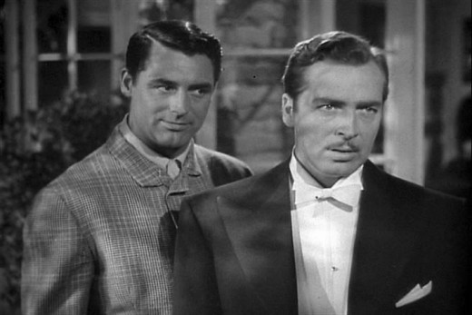 Cary Grant and John Howard